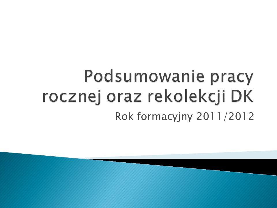 Rok formacyjny 2011/2012
