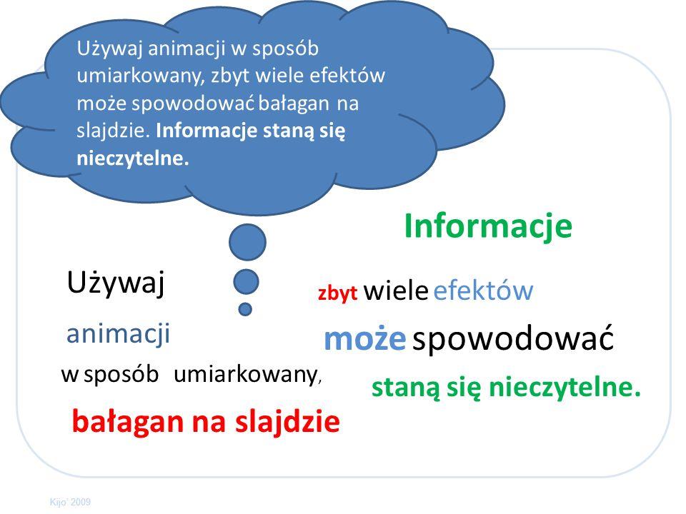 Nie umieszczaj zbyt dużo tekstu na pojedynczym slajdzie, ponieważ staje się nieczytelny. Nie umieszczaj zbyt dużo tekstu na pojedynczym slajdzie, poni