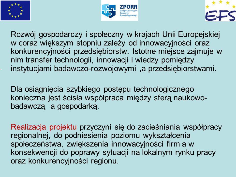 Rozwój gospodarczy i społeczny w krajach Unii Europejskiej w coraz większym stopniu zależy od innowacyjności oraz konkurencyjności przedsiębiorstw. Is