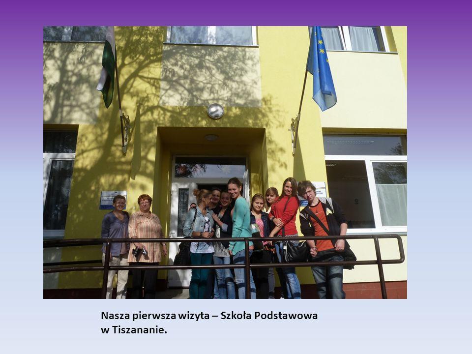Nasza pierwsza wizyta – Szkoła Podstawowa w Tiszananie.