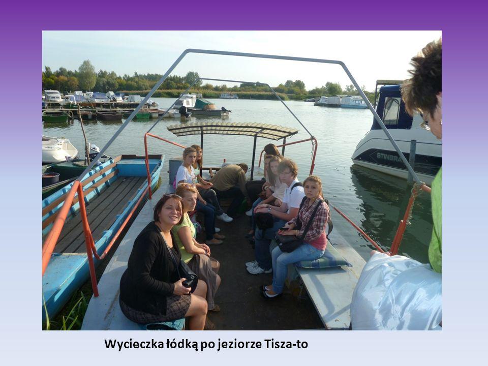 Wycieczka łódką po jeziorze Tisza-to