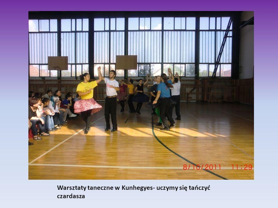 Warsztaty taneczne w Kunhegyes- uczymy się tańczyć czardasza