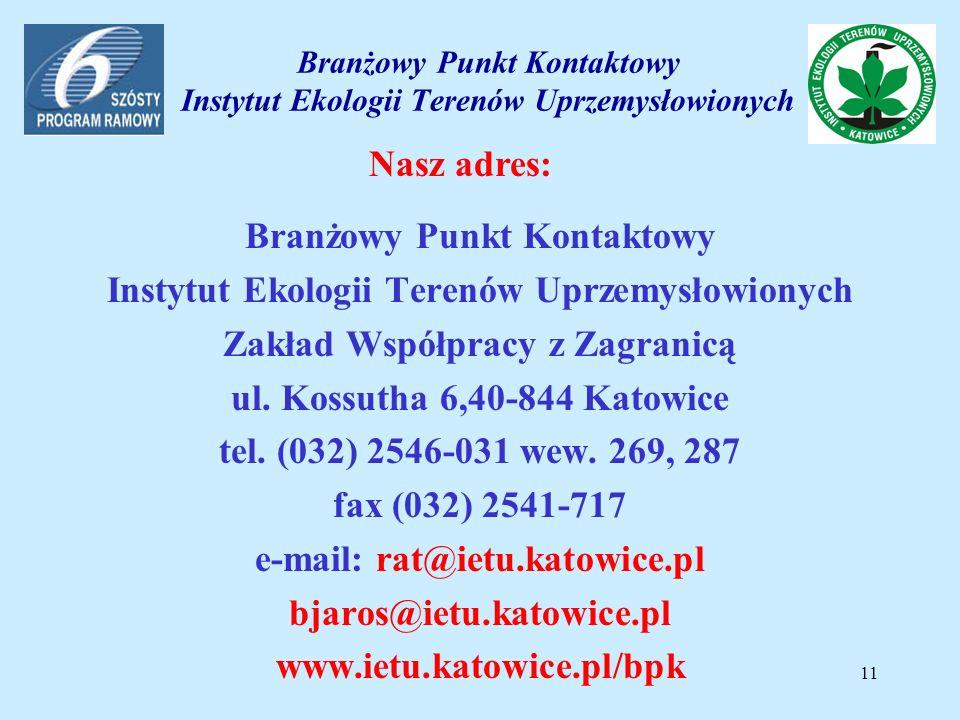 Serwis informacyjny BPK IETU poświecony Funduszom Europejskim www.ietu.katowice.pl/bpk/FE