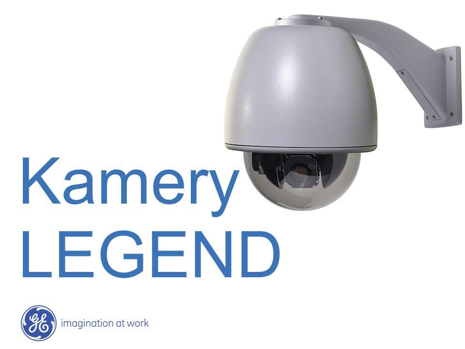 Zintegrowane kamery LEGEND Unikalne cechy mechaniczne Precyzyjny mechanizm napędowy Bezpośredni napęd SilkTrak eliminuje przekładnie i paski, co znacznie poprawia stabilność i niezawodność pracy Dokładność ustawień kamery wynosi ±0.015 stopnia Wychylenie do 184 wraz z elektronicznym odwracaniem obrazu Eliminuje konieczność obrotu kamery wokół osi podczas śledzenia obiektu Instalacja i wyjmowanie kamery przy pomocy jednej ręki Kopuła formowana wtryskowo, co daje niezrównaną przejrzystość