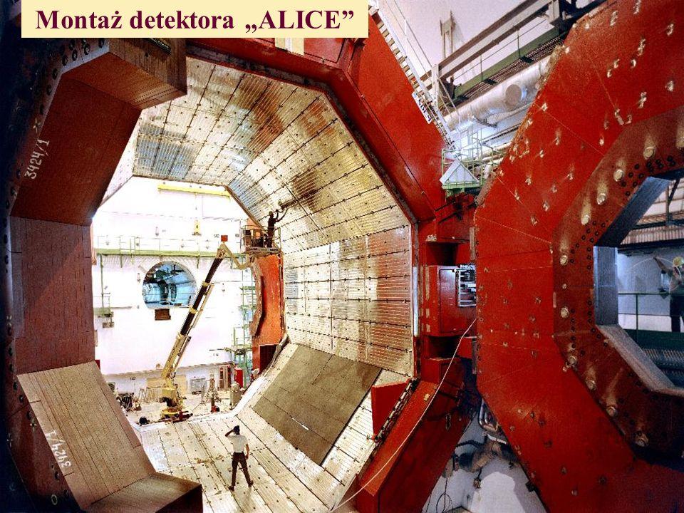 Montaż detektora ALICE