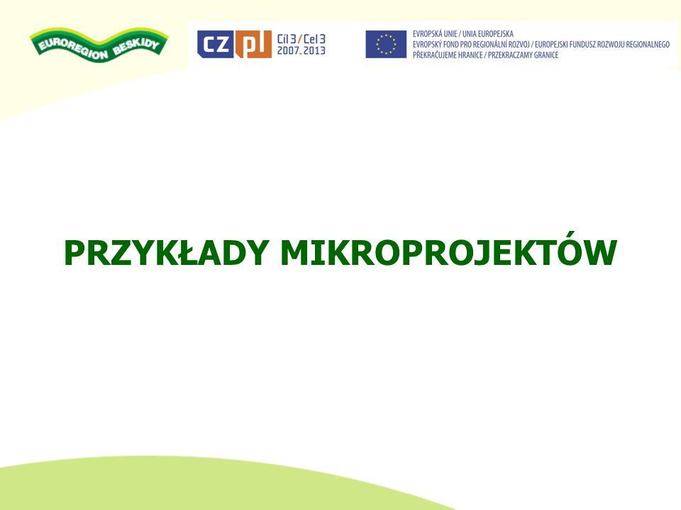 Rozbudowa przygranicznej infrastruktury turystycznej w Gminie Buczkowice Beneficjent: Gmina Buczkowice
