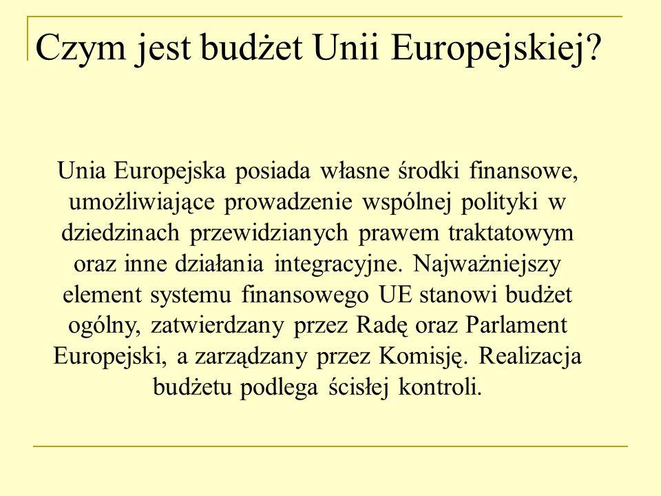 Kiedy utworzono budżet UE.Pierwotnie każda ze Wspólnot Europejskich miała swój odrębny budżet.