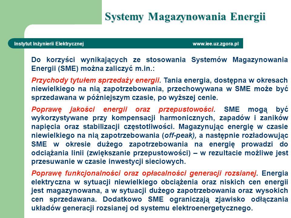 Do korzyści wynikających ze stosowania Systemów Magazynowania Energii (SME) można zaliczyć m.in.: Przychody tytułem sprzedaży energii. Tania energia,