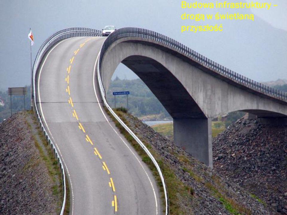 Budowa infrastruktury – drogą w świetlaną przyszłość