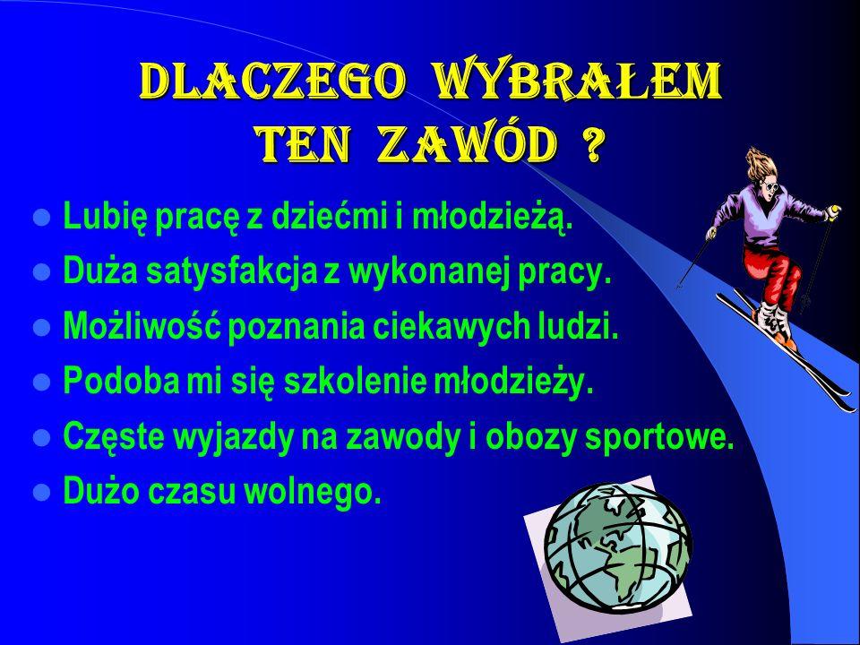 PRACA Szko ł a Podstawowa nr 5 1991r.-....... Mi ę dzyszkolny O ś rodek Sportowy 1991r.-...... Mi ę dzyszkolny Klub Sportowy Osa 2001r.-.......