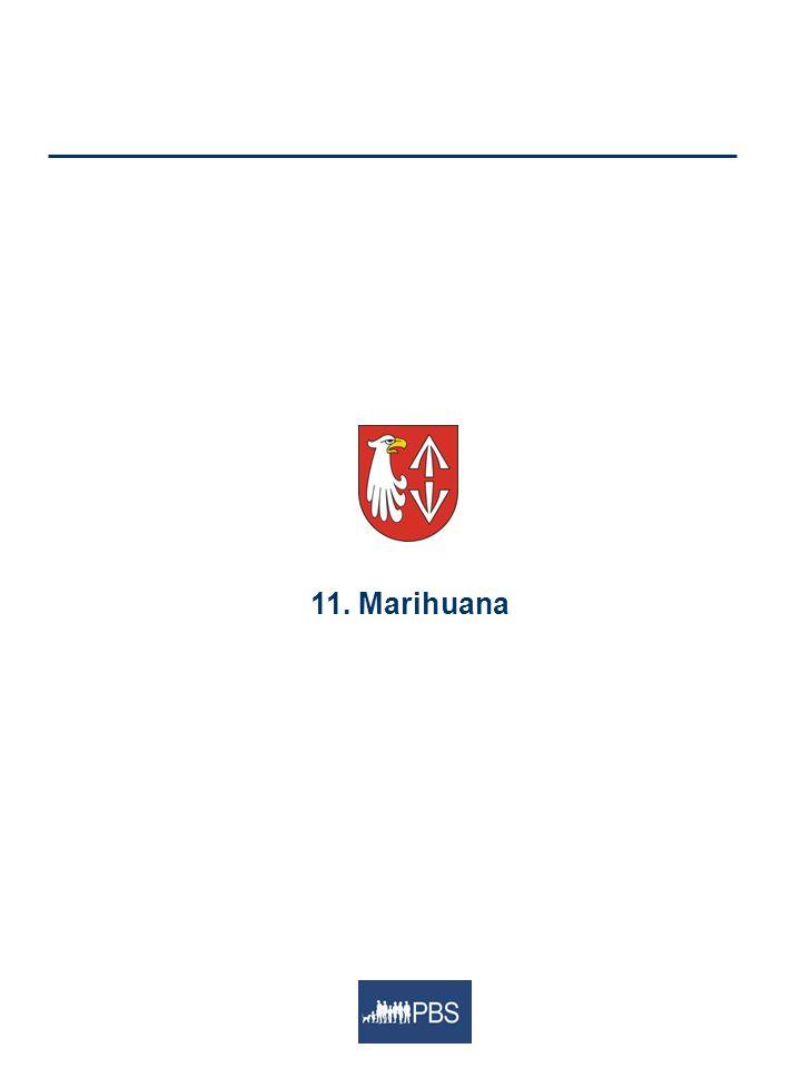 11. Marihuana