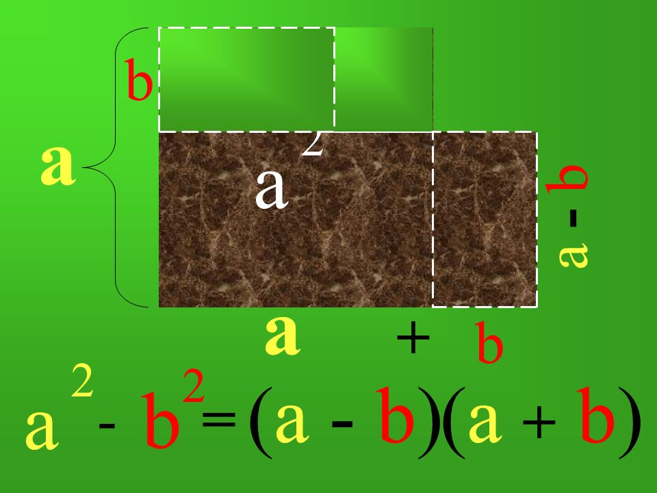 a 2 a b 2 a b a 2 b a - b + b 2 -= (a - b)(a + b)