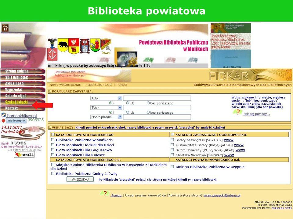 Biblioteka powiatowa