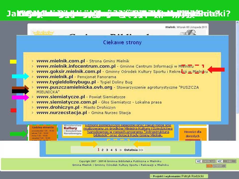 Strona głównaKatalog on-lineZmów książkęAdres, godziny otwarciaAktualnościNowości wydawniczeLinki