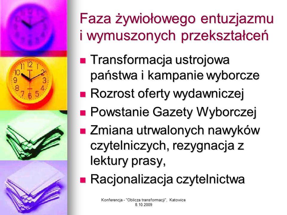 Konferencja - Oblicza transformacji , Katowice 8.10.2009 Ideowiec walczący o zmianę ustroju Ideowiec walczący o zmianę ustroju Działacz związkowy Działacz związkowy Aktywista polityczny Aktywista polityczny Intelektualista Intelektualista