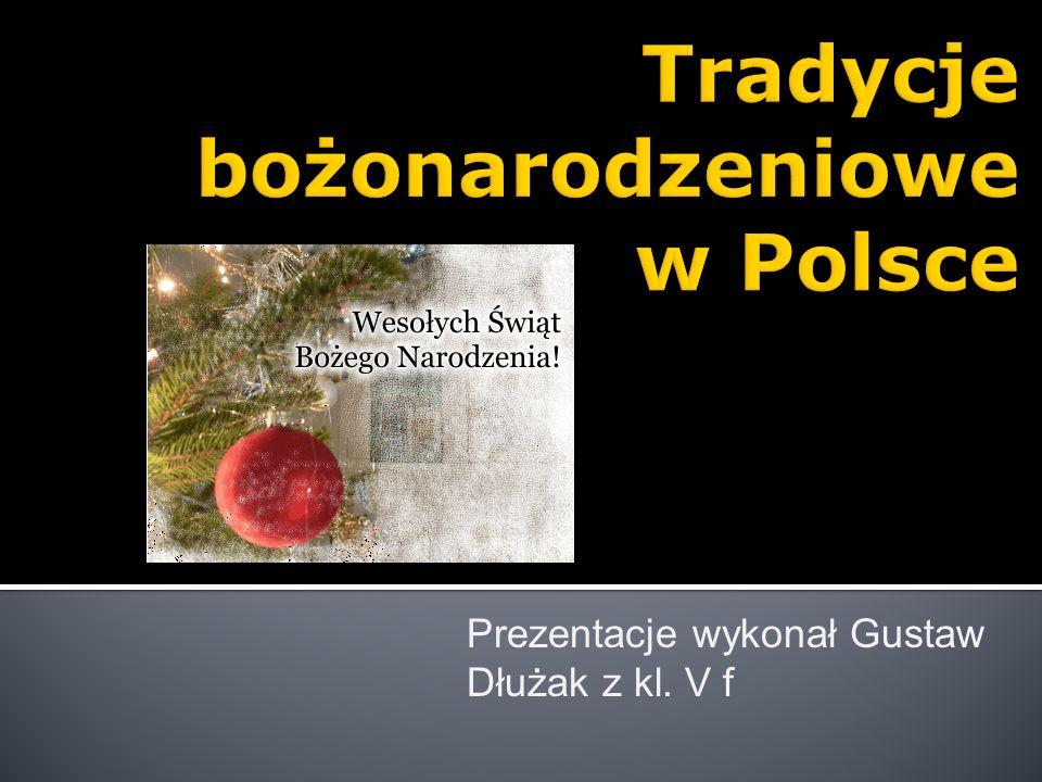 Prezentacje wykonał Gustaw Dłużak z kl. V f