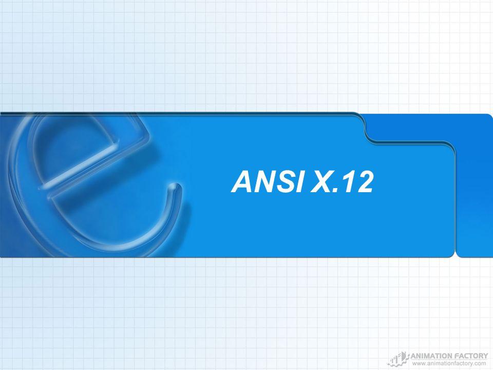 ANSI X.12