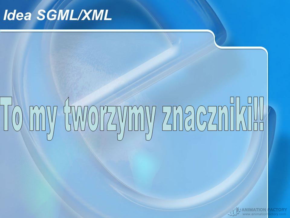 Idea SGML/XML