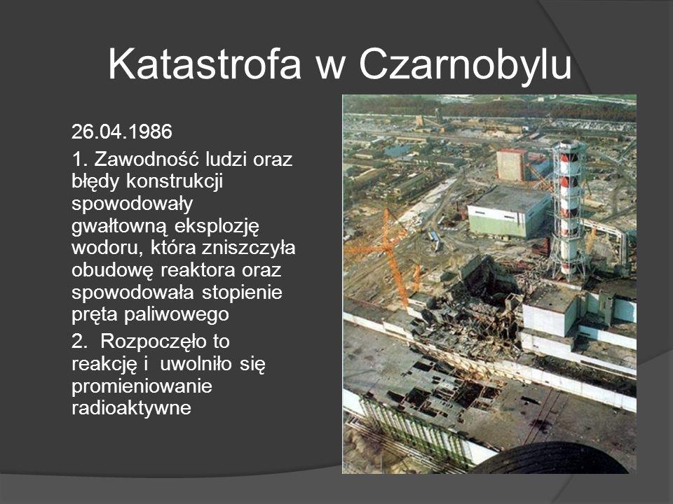 Katastrofa w Czarnobylu 26.04.1986 1.