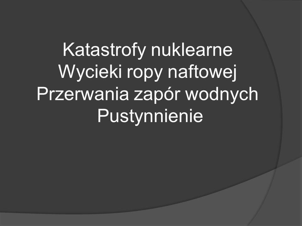 Katastrofy zapór wodnych Zapora Vajont Zapora Malpasset Zapora we Włocławku ??