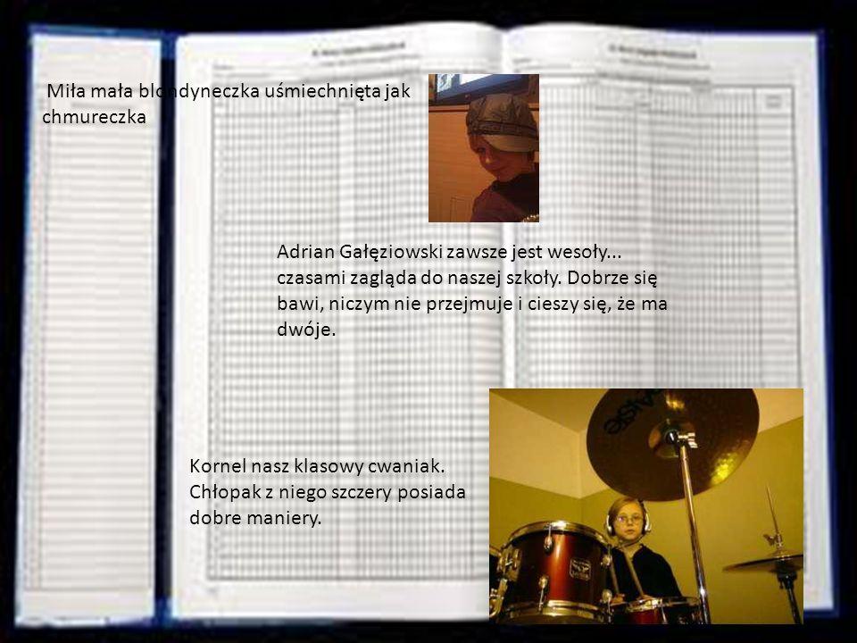 Kamil jest czwarty w dzienniku Piotrek Góra przedstawić go trzeba.