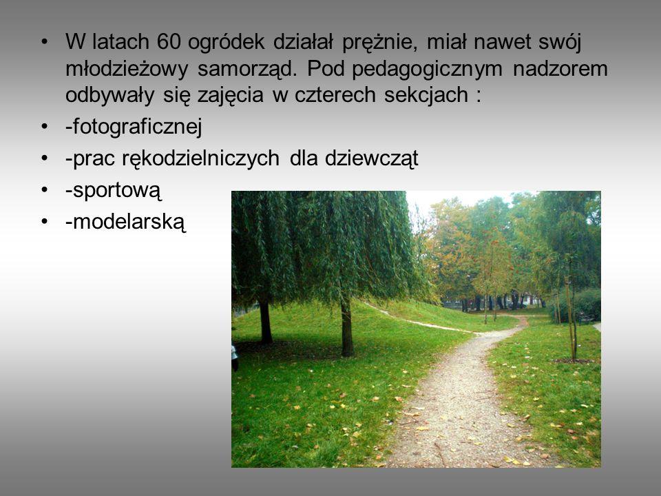 Po II wojnie światowej park stanowił małą enklawę zieleni przy ul.