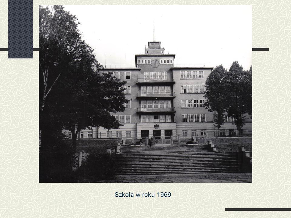 Szkoła w roku 1969