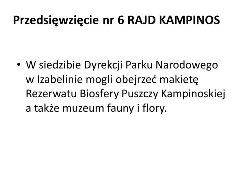 W siedzibie Dyrekcji Parku Narodowego w Izabelinie mogli obejrzeć makietę Rezerwatu Biosfery Puszczy Kampinoskiej a także muzeum fauny i flory.