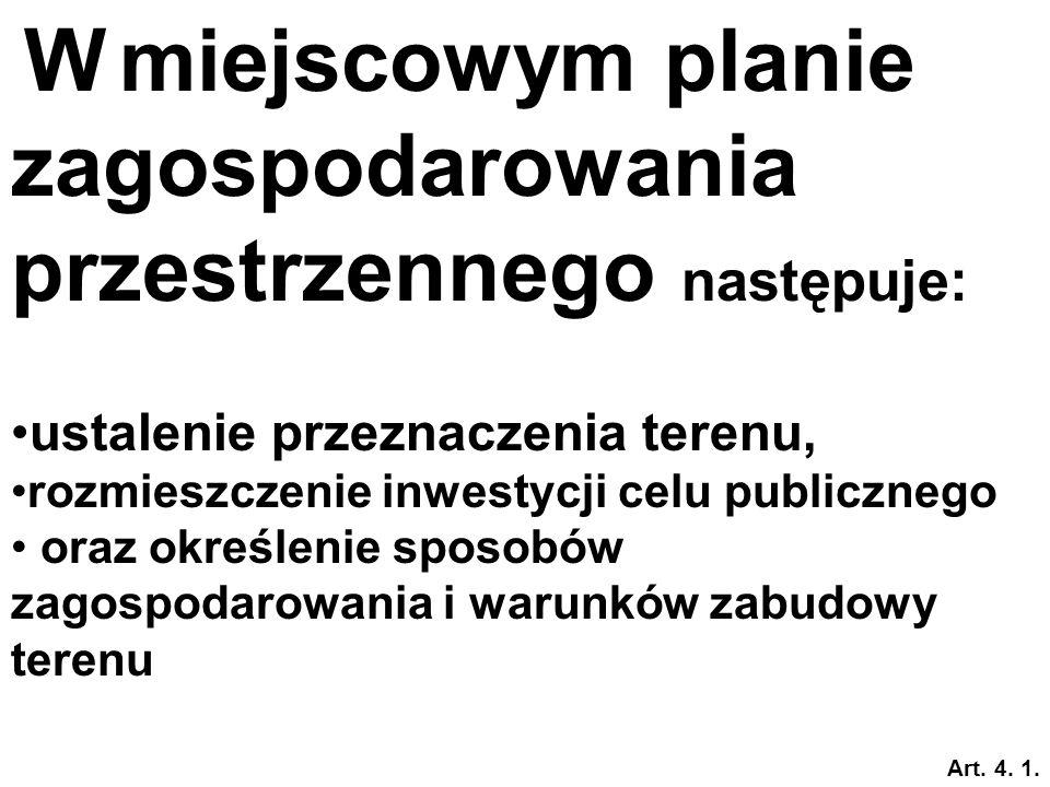 Opracowania planistyczne na obszarze gminy Sporządza – Wójt, Burmistrz, Prezydent Uchwala - Rada Gminy
