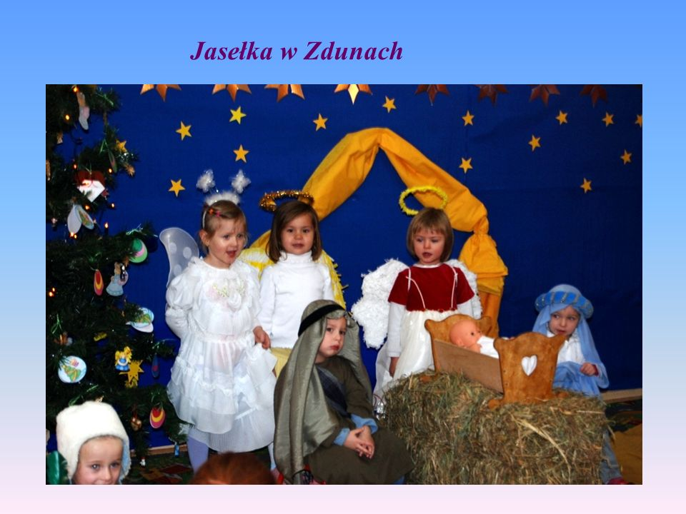 Jasełka w Zdunach