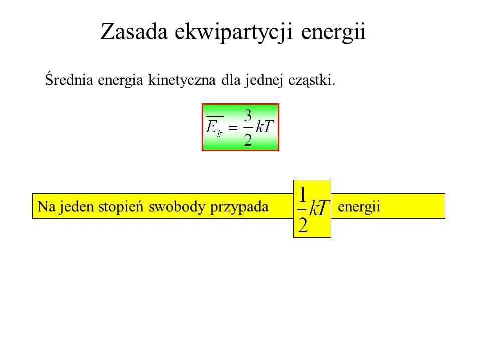 iloczyn czyli masę substancji na jednostkę objętości. Po wstawieniu tego do równania * otrzymujemy wyrażenie; Porównując to równanie z równaniem gazu