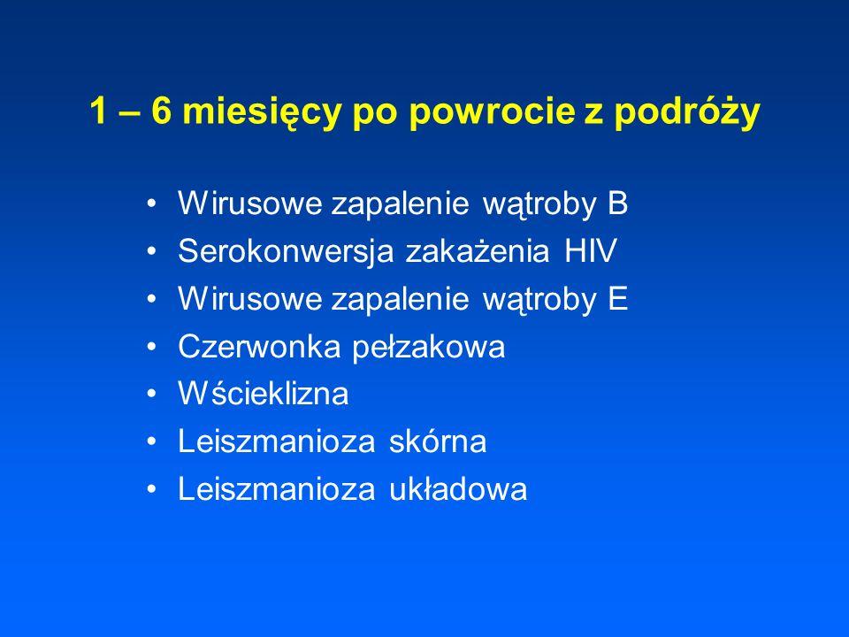 Zimnica tropikalna Encefalopatia (zimnica mózgowa) Obrzęk płuc Ostra niewydolność nerek Ciężka hemoliza wewnątrznaczyniowa Hemoglobinuria, czarnomocz Żółtaczka hemolityczno - miąższowa Głęboka niedokrwistość, Hyperparazytemia > 10 % krwinek zarażonych
