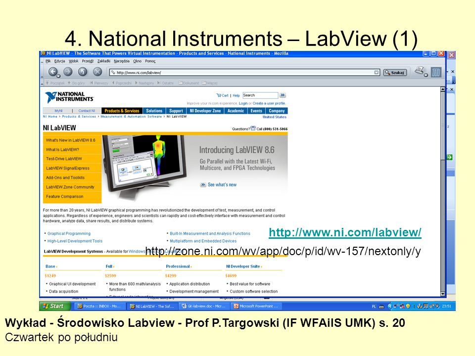 4. LabView