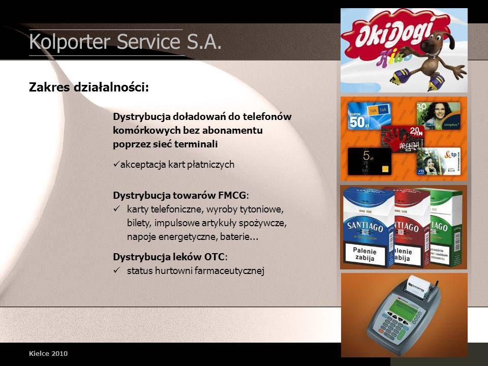 Dystrybucja towarów FMCG: karty telefoniczne, wyroby tytoniowe, bilety, impulsowe artykuły spożywcze, napoje energetyczne, baterie... Dystrybucja lekó