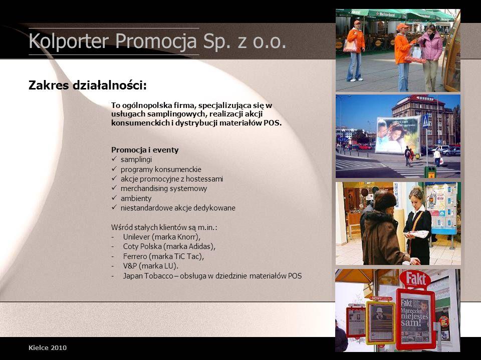 Kolporter Promocja Sp. z o.o. Promocja i eventy samplingi programy konsumenckie akcje promocyjne z hostessami merchandising systemowy ambienty niestan