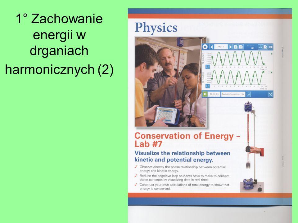 1° Zachowanie energii w drganiach harmonicznych (2)