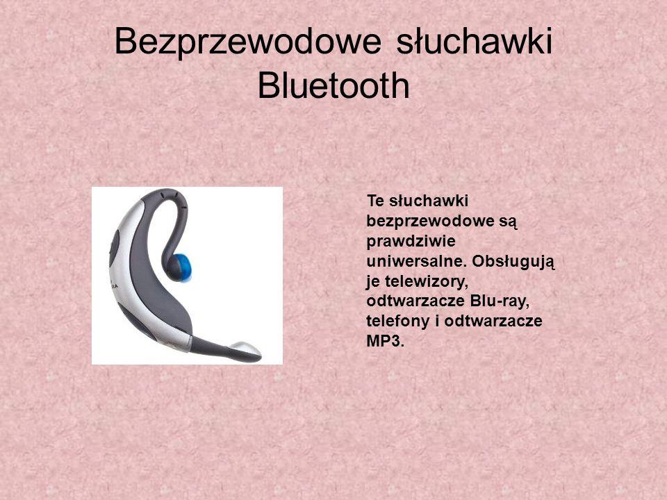 Bezprzewodowe słuchawki Bluetooth Te słuchawki bezprzewodowe są prawdziwie uniwersalne. Obsługują je telewizory, odtwarzacze Blu-ray, telefony i odtwa