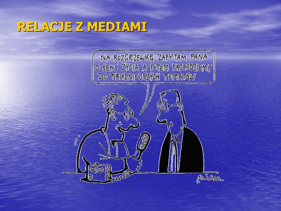TWORZENIE INFORMACJI PRASOWEJ Informacja prasowa jest jednym z podstawowych narzędzi komunikacji z dziennikarzami Informacja prasowa jest jednym z podstawowych narzędzi komunikacji z dziennikarzami Służy przekazaniu informacji o wydarzeniach dotyczących funkcjonowania jednostki Służy przekazaniu informacji o wydarzeniach dotyczących funkcjonowania jednostki Najlepiej, aby była napisana tak, by dziennikarz mógł ją w całości opublikować – bez konieczności dokonywania zmian.