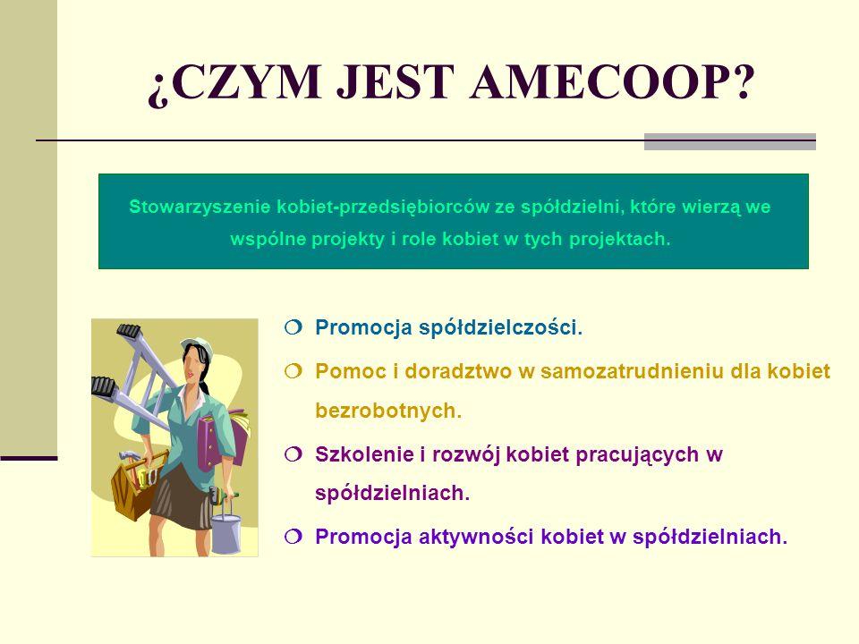 ¿CZYM JEST AMECOOP. Promocja spółdzielczości.