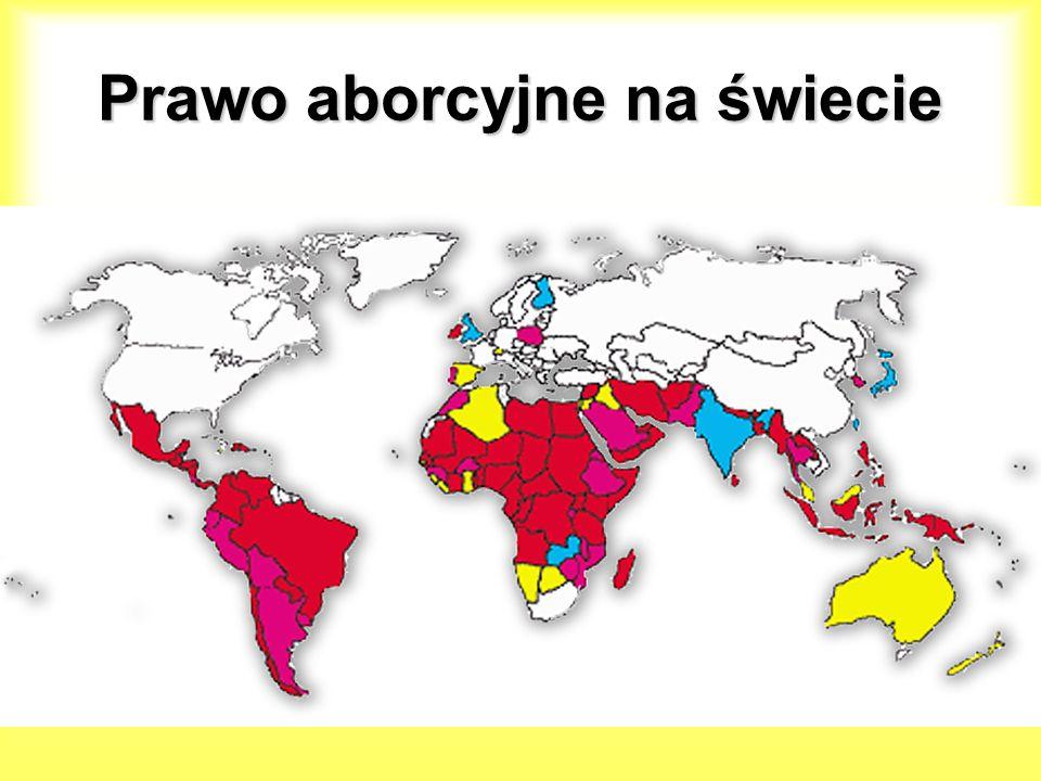 Prawo aborcyjne na świecie