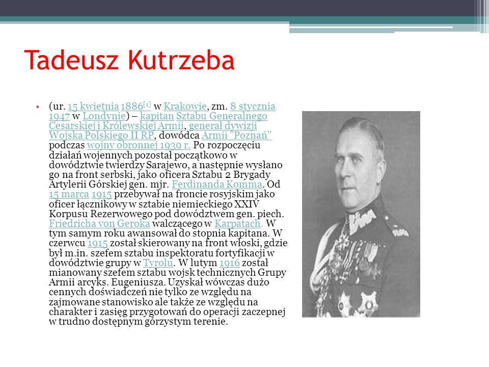 WŁADYSŁAW RACZKIEWICZ Władysław Raczkiewicz (1885–1947), prawnik, polityk, prezydent RP na wychodźstwie.