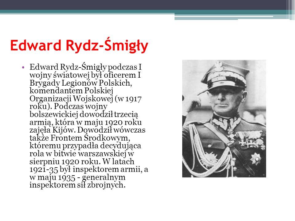Stefan Starzyński Był publicystą, działaczem społeczno-gospodarczym i ekonomistą.
