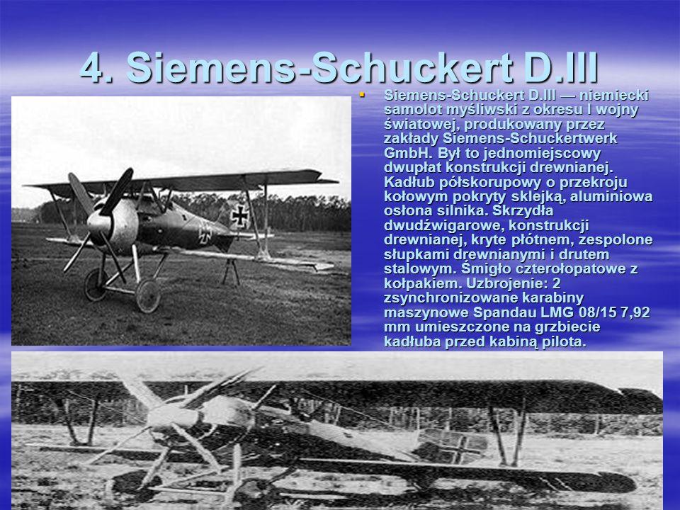 3. Hannover Roland CL.II Hannover Roland CL.II – niemiecki dwumiejscowy samolot myśliwski i obserwacyjny. Napęd: silnik rzędowy, śmigło drewniane, dwu