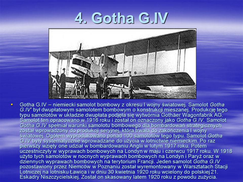3. Friedrichshafen FF.49 Friedrichshafen FF.49 – niemiecki wodnosamolot bombowy i patrolowy. Wodnosamolot Friedrichshafen FF.49 powstał w specjalizują