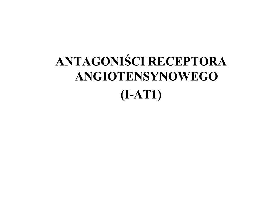 ANTAGONIŚCI RECEPTORA ANGIOTENSYNOWEGO (I-AT1)