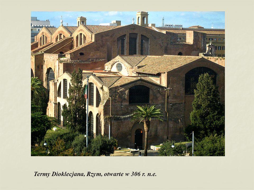 Termy Dioklecjana, Rzym, otwarte w 306 r. n.e.