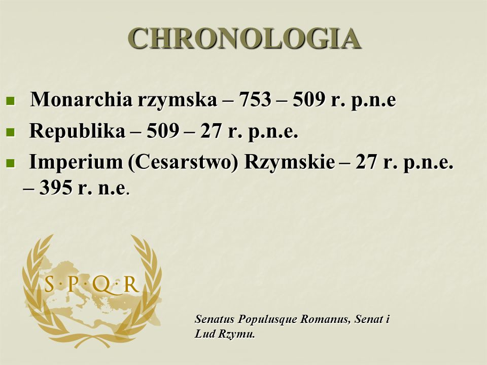 Rzymianie byli wojownikami praktycznie nastawionymi do życia.