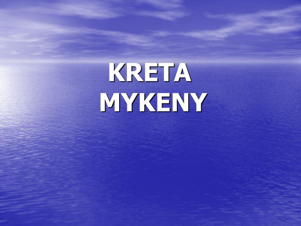 KRETA MYKENY MYKENY