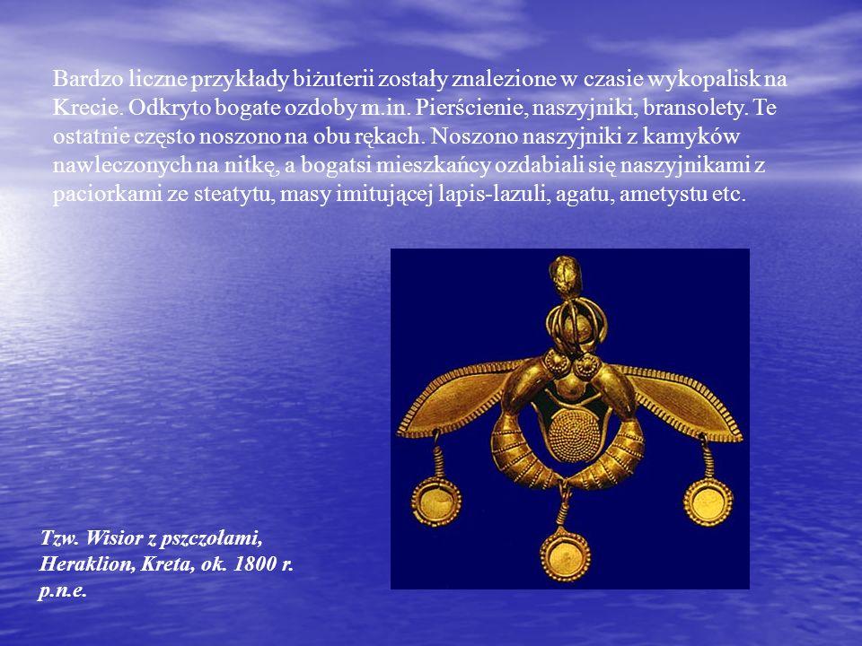 Tzw.Wisior z pszczołami, Heraklion, Kreta, ok. 1800 r.