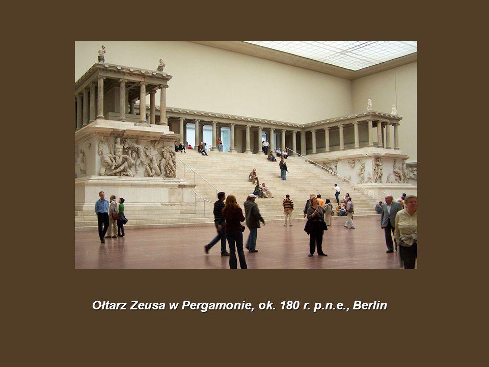 Ołtarz Zeusa w Pergamonie, ok. 180 r. p.n.e., Berlin
